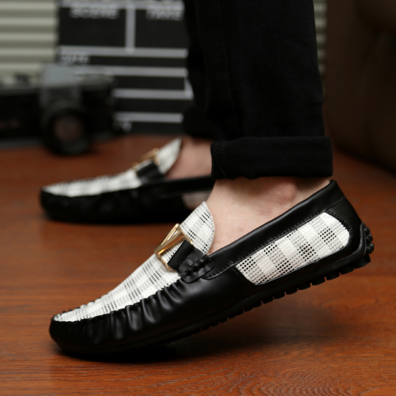 2014 breathable male shoes british style casual lazy genuine leather Moccasins sailing - Loved God Good Store store