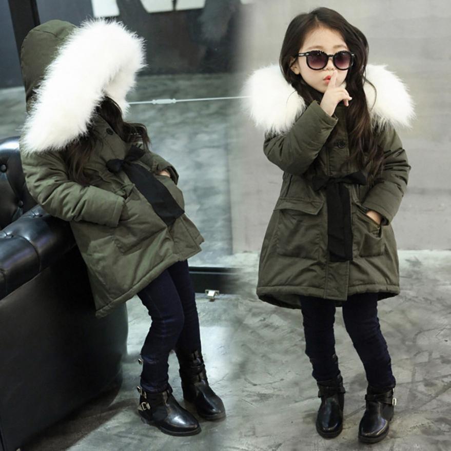 Baby girls winter coat 2018 New Fashion Kids Coat Boys Girls Thick Coat Padded Winter Jacket Clothes