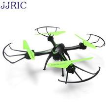 JJRIC H98WH RC FPV 2.4 Ghz 4CH 6-axis Zangão Quadcopter WI-FI Câmera HD Preto Feb21