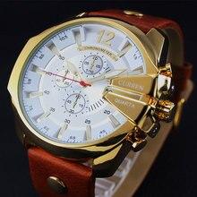 2018 Style Fashion Watches Super Man Luxury Brand CURREN Watches Men Women Men's Watch Retro Quartz Relogio Masculion For Gift