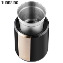 TUANSING 220V Multifunction Household Electric Coffee Bean Grinder Spice Maker Grinding Machine Rapid Coffee Grinder Mill