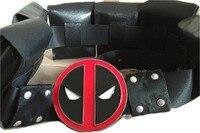 Hot Marvel Superman Cosplay Deadpool Belt Buckle Mens Belts Buckles Metal Cintos Cinturon Women Accessories Adjuatable