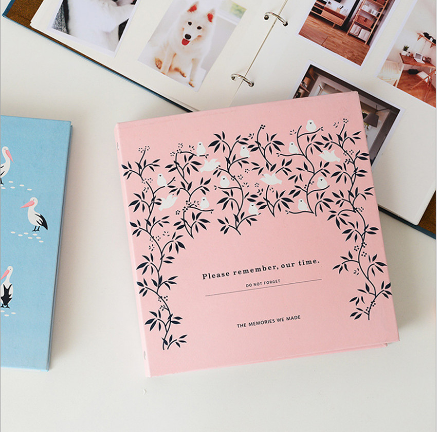 Korean Version Photo Album Of The DIY Manual Self-Adhesive Album Paper Storage Of The Common <font><b>3</b></font> Inch 4 - 5 -6 - <font><b>7</b></font> Inch Collectio image