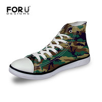 Classic Men Canvas Shoes Camouflage Casual Shoes Man Outdoor Sport Breathable Shoes Male Footwear High Top