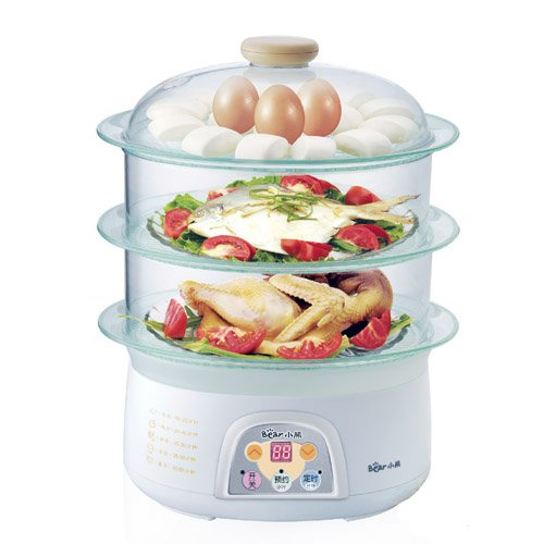 Bear Electric Food Steamer (15s to steam, 3 steam box, automatic switch off when dry) c s 1 6 steam киев