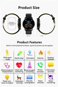 Image 5 - LUIK Sport Smart Armband hartslag Bloeddrukmeter Weer Display Stappenteller Polsband Smartwatch Voor Android ios + Box