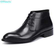 Genuine Leather Men Chelsea Boots New 2019 Autumn Winter Casual Ankle Dress Shoe