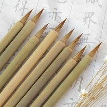 Ласка волос небольшая обычная для письма кисть китайского ручка-кисть для каллиграфии кисть для китайской живописи пейзаж Картина поставки