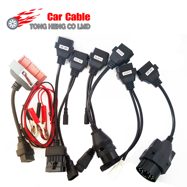 Factory Price New  full set 8 cables cdp Car Cables CDP car cable best price and best quality Free Shipping