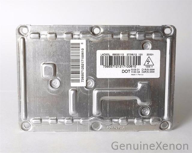 D1S D1R D2S D2R HID Xenon Headlight Ballast Control Unit Module ECU 63126938561 6938561 6237219 For Audi BMW Citroen Seat VW