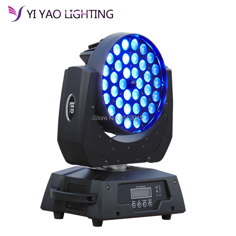 2018 Led Wash Moving Head Light 36x12w With Led Rgbw 4in1 Color Mixing For Led Club Light