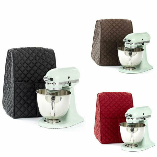 3 Color Stand Mixer Dustproof Waterproof Cloth Quilted Blender Cover Dust-proof with Organizer Bag for Kitchenaid Mixer