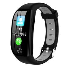 F21 Smart Bracelet GPS Fitness Activity Tracker 1.14″ Sport Waterproof Blood Pressure Watch Sleep Monitor Smart Band Wristband