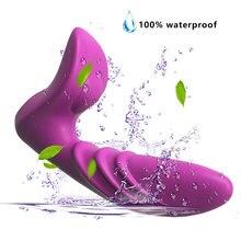 Waterproof 10 Speed Remote Control Anal Vibrator