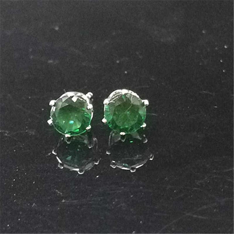 2018 neue Marke Schmuck Luxus Österreichischen Kristall Ohrringe Für Frauen Gold Silber CZ Korn Marmor Stud Ohrringe Mode Mädchen Geschenke