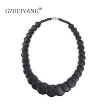 GBBEIYANG Hot sale Bohemian sweet fashion woman multi-color stone necklace for girl popular jewelrybirthday gift