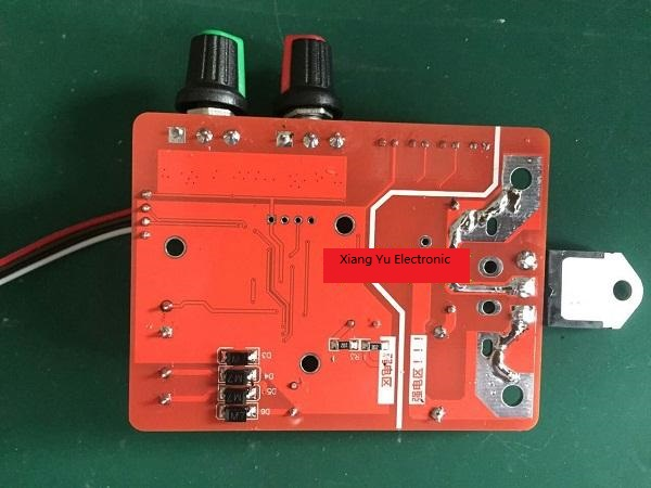 Spot welding time and current controller-bottom