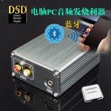 บลูทูธ5.0 ES9038Q2M + XMOS U8 USB DSD PCM 32Bit  384K HIFI Audio USBถอดรหัสDACพร้อมชุดหูฟัง3.5มม.
