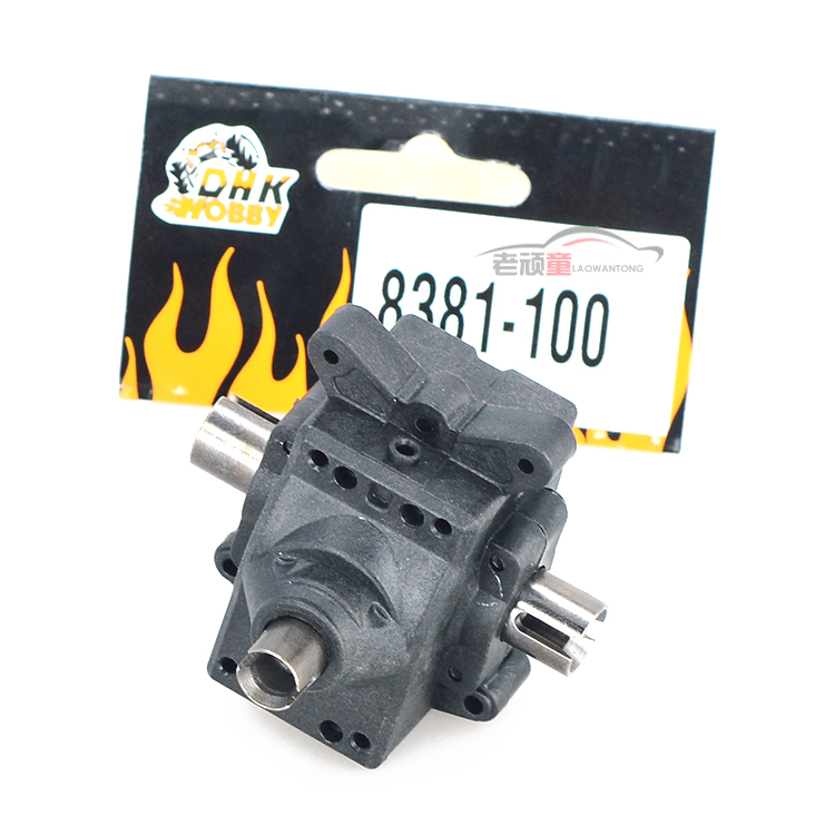 Free Shipping DHK 8381-100 Diff Gear Box Assembly RC Accessories 1/8 8381 8382 8384 Original Upgrade Parts For Model Toys Car hsp 02024 differential diff gear complete 38t for 1 10 rc model car spare parts fit buggy monster