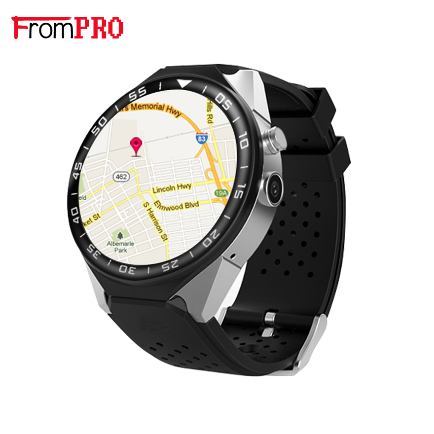 FROMPRO S99C Smart Watch Android 5.1 OS 1GB Ram 16GB Rom 5.0 MP MTK6580 Quad Core 3G GPS Wristwatch 1.39 Heart Rate Pedometer no 1 d6 1 63 inch 3g smartwatch phone android 5 1 mtk6580 quad core 1 3ghz 1gb ram gps wifi bluetooth 4 0 heart rate monitoring