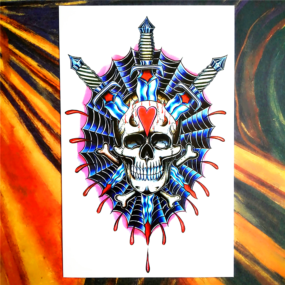 Online buy wholesale shield tattoos from china shield for Painless permanent tattoos