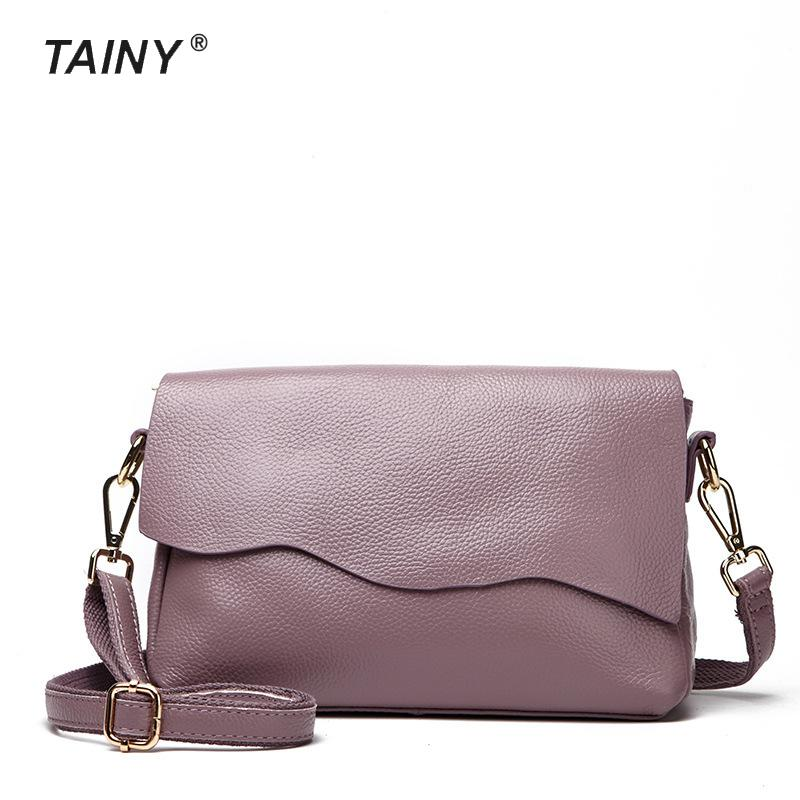 2017 New Arrival Tainy Satchels Genuine Leather Cow Leather Casual Women Shoulder Bags T6003 цены