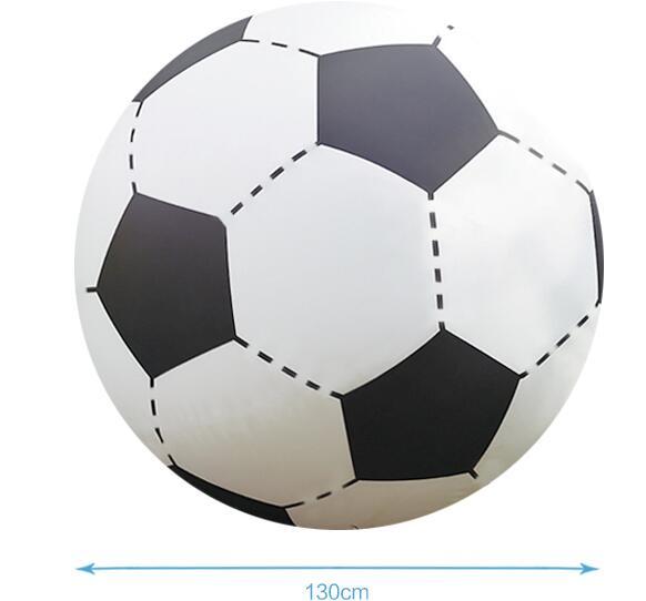 Gigante de 130cm Bola de playa inflable fútbol niños chico juego al aire libre juegos al aire libre Juegos globo pelota de voleibol gigante de PVC piscina y accesorios - 2