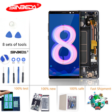 6.3Sinbeda Super AMOLED For Samsung Note 8 LCD N950F Digitizer Display Touch Screen N9500 N900