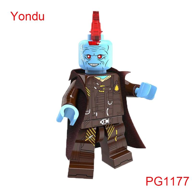Guardians Of The Galaxy Building Blocks Yondu Marvel Super Heroes X-Men Star Wars Mini Dolls Toys Hobbies Pg1177 marvel platinum definitve guardians of the galaxy reloaded