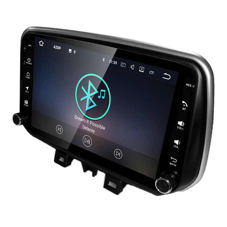 大画面 10.1 インチの ips スクリーンアンドロイド 8.1 wifi と bluetooth ラジオ GPS ミラーリンク 2018 新ヒュンダイツーソン