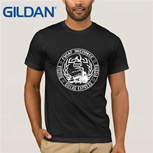 GILDAN CCCP Russian T Shirt USSR Soviet Union Man T-shirt Russia Mens Tshirts Cotton