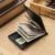 Alta calidad gubintu marca hombres carteras mini zipper coin id tarjeta de crédito titular clip del dinero billetera