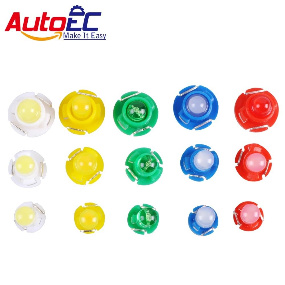AutoEC Т3 Т4.2 Т4.7 ПОЧАТКА 12 В 1 СМД приборной панели предупреждающий Индикатор свет лампы предупреждающий Индикатор свет для двери автомобиля #LA15