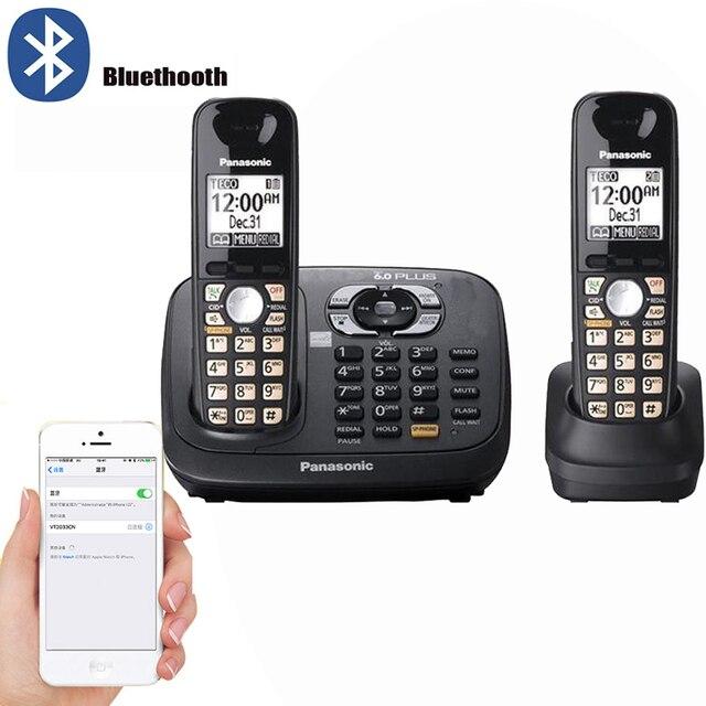 Correio de Voz Handfree Do Telefone Sem Fio Com Secretária eletrônica Digital LCD Retroiluminado Bussiness Telefone Fixo Sem Fio Para Home Office
