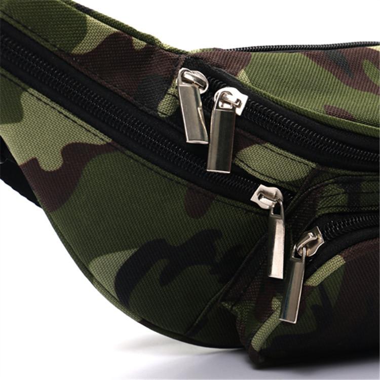 High Quality Ride Rejse Camouflage Talje Bag Bananka Rejse Fritid - Bæltetasker - Foto 5
