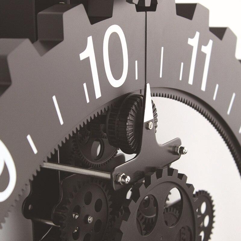 Европейские часы «сделай сам» Часы короткие креативные классические часы механизм часы отличные настенные часы для дома Relogio Parede гостиная 5ZB35 - 3
