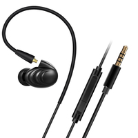 YMDX Free DHL FiiO F9 Triple Driver Hybrid In Ear Headphone F9 With Mic FiiO Earphone