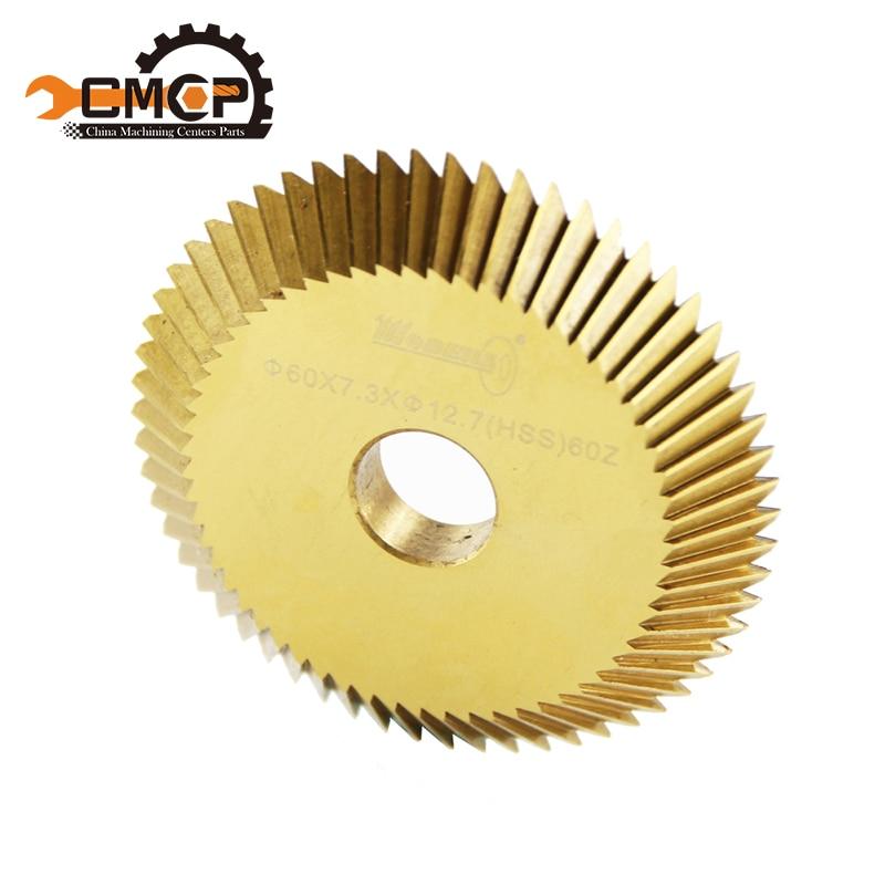 Teeth 60Z Diameter 60mm Key Cutting Machine Key Duplication Machine Milling Cutter Key Machine Saw Blade цены