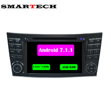 2G Android 7.1 Multimedias Del Coche DVD Player Para Mercedes Benz W211 W219 W463 E200 E220 E240 E270 E280 CLS350 CLS500 CLS55 GPS Radio