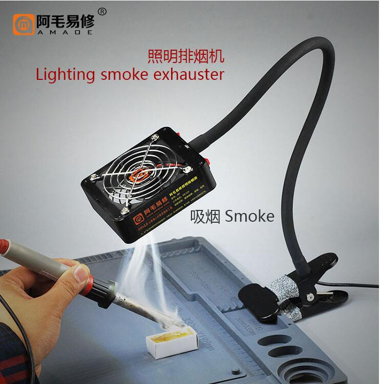 M1 M2 Smoke Absorber with LED Light Fume Extractor Smoke Absorber for repair tools Soldering Station M1 M2 Smoke Absorber with LED Light Fume Extractor Smoke Absorber for repair tools Soldering Station