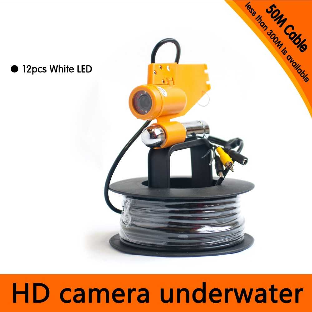 50Meter Depth Underwater Camera with Single Lead Rode for Fish Finder & Diving  Camera Application50Meter Depth Underwater Camera with Single Lead Rode for Fish Finder & Diving  Camera Application