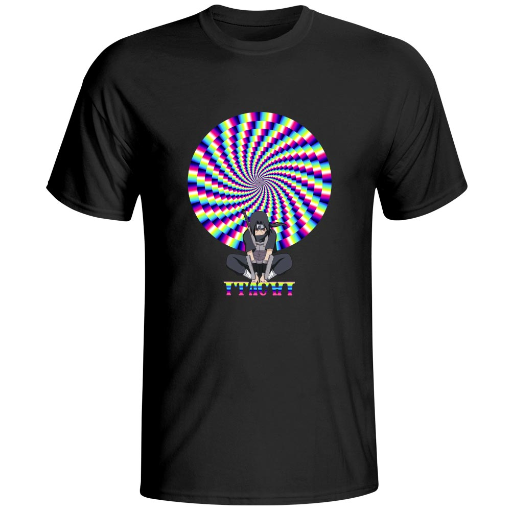 Anime Creative Design Uchiha Itachi Magic Ninjutsu 3D Version5 T Shirt Novelty Pop Design T shirt Punk Cool Casual Unisex Tee in T Shirts from Men 39 s Clothing