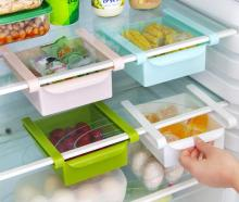 3pc Space Saver Food Storage Kitchen Box Storage Rack Fridge Storage Container Drawer Organizer Storage Box Kitchen Containers storage box bamboo bread box bins with cutting board double layers food containers big drawer kitchen organizer home accessories