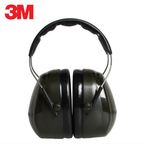 3M H7A Earmuffs Optime 101 Over-the-Head Earmuff Hearing Conservation cap-mounted Earmuffs Hearing Protection Noise Reduction D3