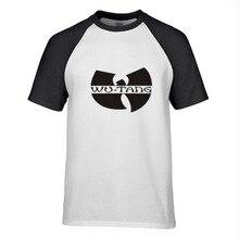 New font b Men s b font Fashion Short sleeve Skateboard Street KUNGFU WUTANG T font