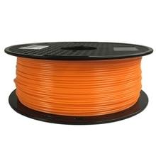 FLEXBED 1.75mm Filamento PETG 1 kg (2.2lb), PETG Filamento Impressora 3D, Sólido Material Opaco, laranja