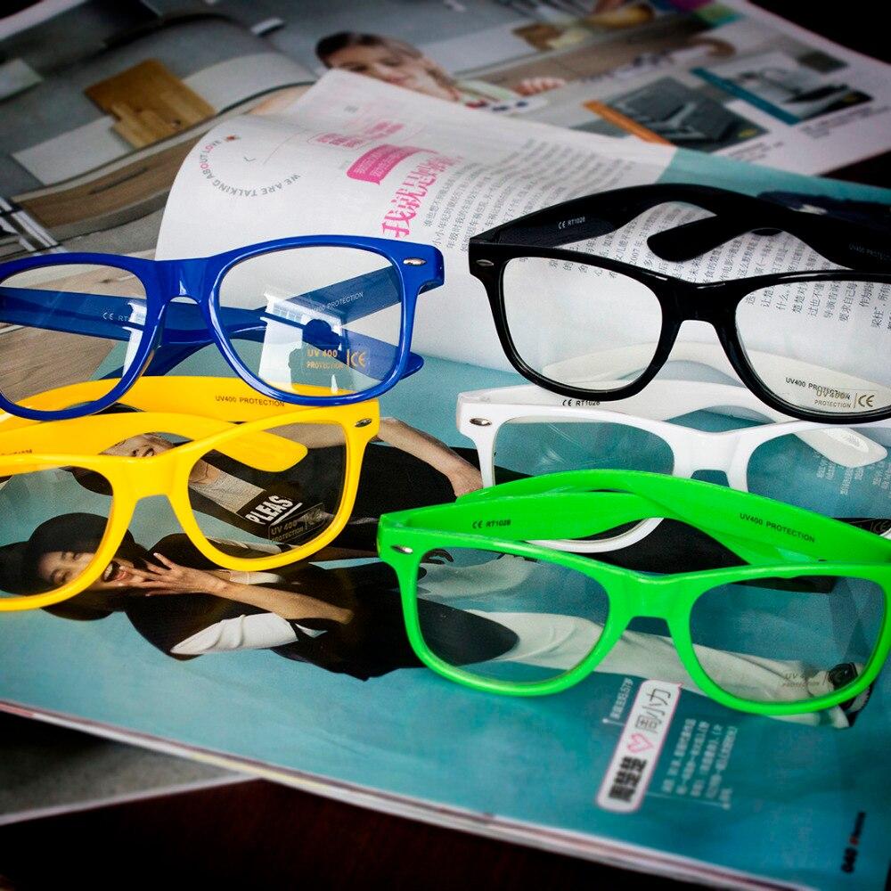 Nova Chegada Estudante Não-Mainstream Lente Clara Óculos de Armação Óculos  Sólidos Homens Mulheres Decoração Da Lente Óptica Moldura Dos Olhos 0e73bf8021