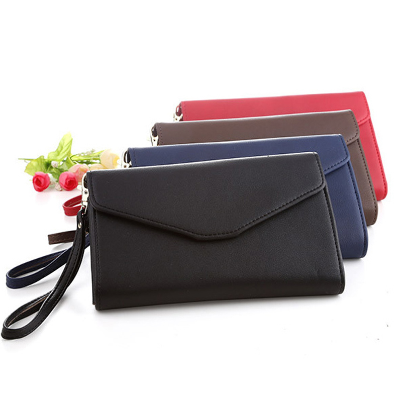 mulheres marca feminina carteira multifuncional Tipo 1 : Multifunction Clutch Wallets