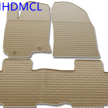 AHHDMCL Car Rubber Floor Mats Carpets Feet Pad For Toyota For RAV4