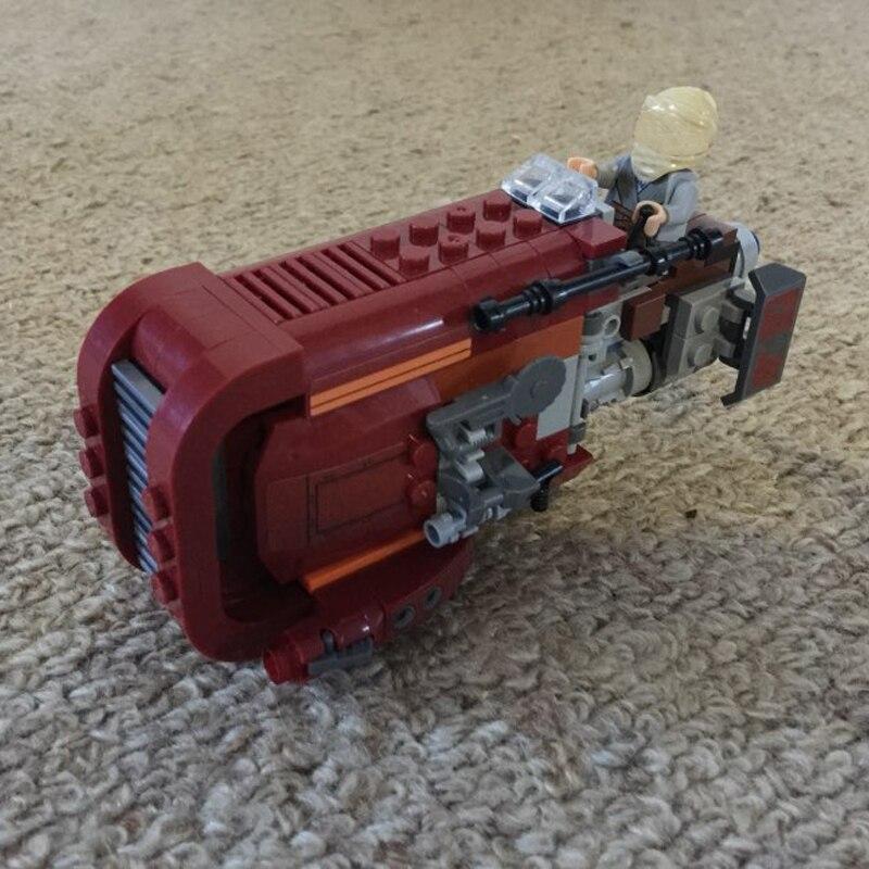 05001 Star Space Wars Chariot ladrillos de construcción bloques establece Speeder modelo juguetes para niños Compatible legoINGly Starwars 75099